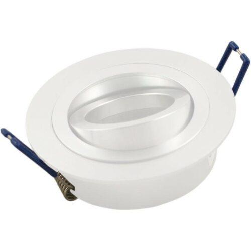 inbouwarmatuur aluminium zonder lamp
