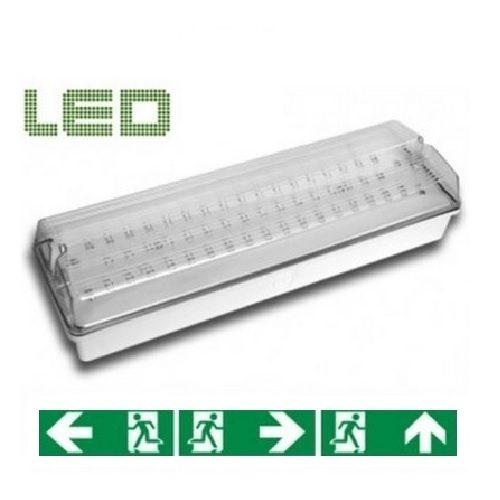 LED Noodverlichting Opbouw Wand 300 Lumen
