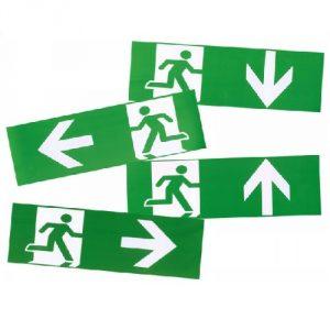 Officiële Noodverlichting Stickers (4)